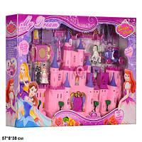 Замок SG-2969 з меблями, ляльками, каретою, батар. муз. світ. кор. 57*8*38 см