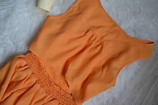 Платье горчичного цвета с красивой спинкой Miss Selfridge, фото 2
