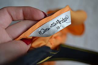 Платье горчичного цвета с красивой спинкой Miss Selfridge, фото 3