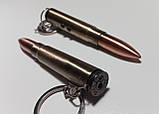 Брелок патрон (пуля)  3 в 1 - Лазер, Фонарик, Ручка. (Ручка пишущая + LED фонарик + Лазерная указка) 907-LED, фото 4