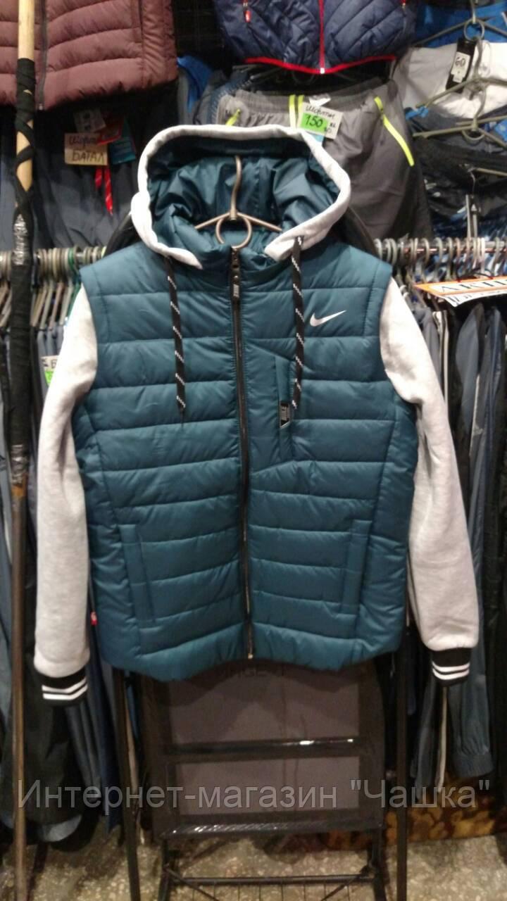 Мужская спортивная куртка Reebok трансформер с отстегивающимися рукавами  копия , фото 2 ... d1839c5590b