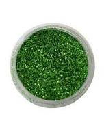 Глиттер. Цвет - зеленый изумрудный
