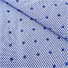 Ткань c синей полоской и звездами, ширина 160 см