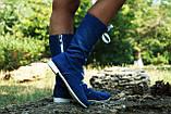 Джинсовые полусапожки на шнуровке, на подкладке. Размеры 35-42, фото 2