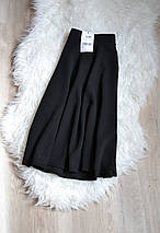 Новая фактурная черная юбка Jennyfer, фото 2