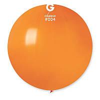 """Шар сюрприз оранжевый 31"""" (80 см) Gemar"""