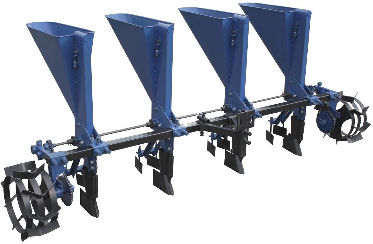 Чеснокосажалка 4-х рядная для минитрактора (с возможностью посадки лука)
