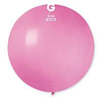 """Шар сюрприз розовый 31"""" (80 см) Gemar"""