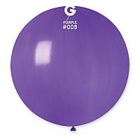 """Шар сюрприз фиолетовый 31"""" (80 см) Gemar"""
