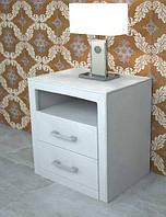Тумба прикроватная  Рианна 2  (ТМ Городок мебель) 400х520х550мм