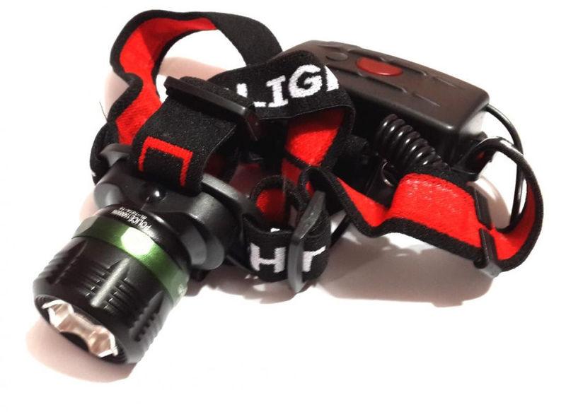 Налобный фонарик Bailong Police BL-T07a (Cree T6)