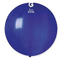 "Воздушный шар гигант темно синий 31"" (80 см) Gemar"