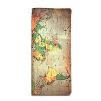 """Турконверт """"Карта пергамент"""" / туристический конверт / тревел кейс / холдер для документов"""