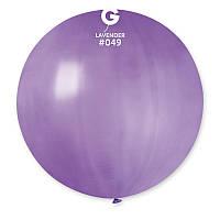 """Воздушный шар гигант сиреневый 31"""" (80 см) Gemar"""