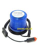 Маяк проблесковый синий светодиодный RD 213  12В 24В мигалка