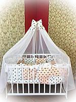 Детский комплект постельного белья в кроватку ТМ Bonna Elite