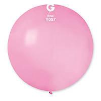 """Воздушный шар гигант розовый 31"""" (80 см) Gemar"""