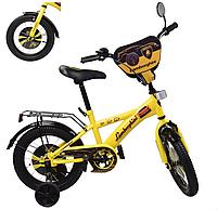 Детский велосипед 12 дюймов Ламборджини 181247 желтый ***