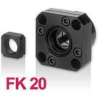 Концевая опора FK20, опора ШВП фланцевая FK20, фото 1
