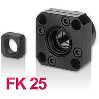 Концевая опора FK25, опора ШВП фланцевая FK25, фото 1