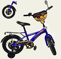 Детский велосипед 12 дюймов Ламборджини 181246 синий ***