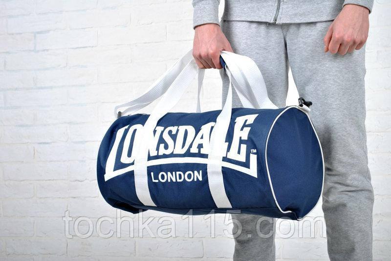 Мужская спортивная сумка lonsdale london, сумка лондон
