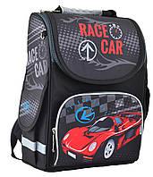Рюкзак каркасный ортопедический  для мальчика PG-11 Race car , SMART, фото 1