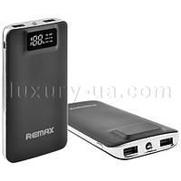 Power Bank REMAX 20000mAh 2USB(1A+2A), цифровой дисплей с подсветкой, фонарик 1LED -134 (5000)