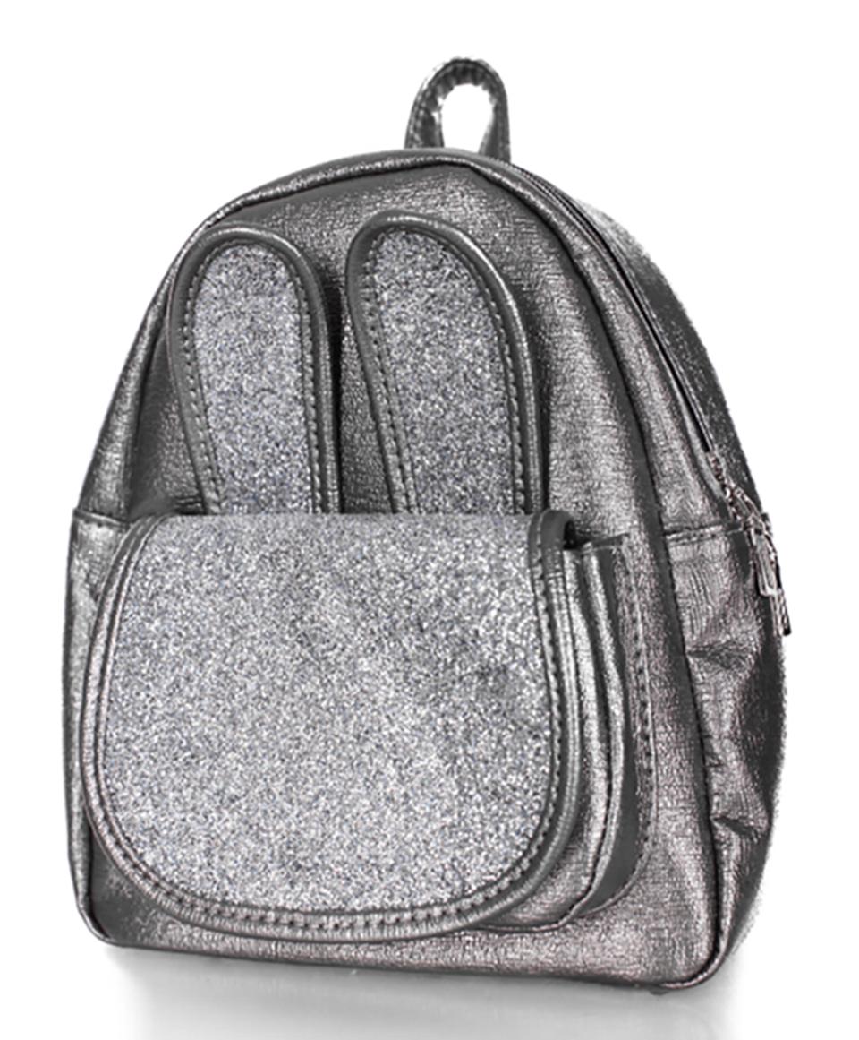 253fe90b46b8 Рюкзак для маленьких модниц серый с блестками - Интернет-магазин сумки Lumy  в Черновцах
