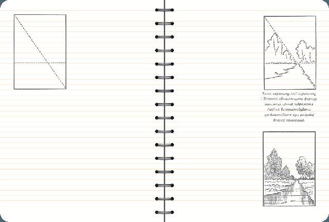 Скетчбук уроки рисования для начинающих основные навыки Рисуем за 30 секунд каштан