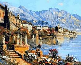 Картина-раскраска по номерам Прекрасная Италия (VP869) 40 х 50 см