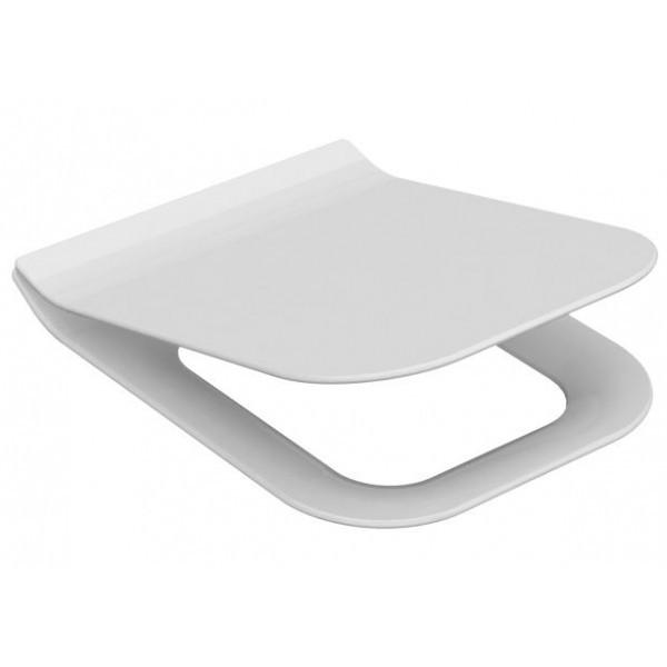 Сиденье, крышка для унитаза IDEVIT Halley Soft Close Slim (53-02-06-009) белый