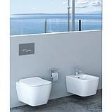 Сидіння, кришка для унітазу IDEVIT Halley Soft Close Slim (53-02-06-009) білий, фото 2