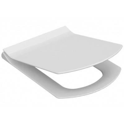 Сиденье, крышка для унитаза IDEVIT Vega Soft Close Slim (53-02-06-003) белый