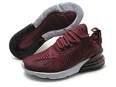 Чоловічі кросівки Nike Air Max 270 бордові