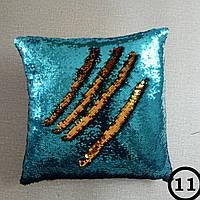 Подушка с пайетками антистресс