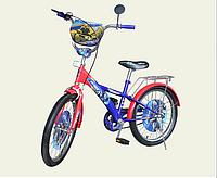 Велосипед двухколёсный детский 14 дюймов Оптимус  171411 ***
