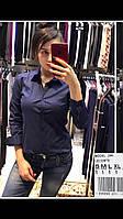 Рубашка Lacoste S,M,L,XL синяя