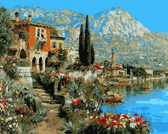 Набор для рисования Очарование Италии (VP871) 40 х 50 см