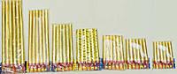 Свечи для торта Холодный фонтан Фейерверк 15 см 6шт