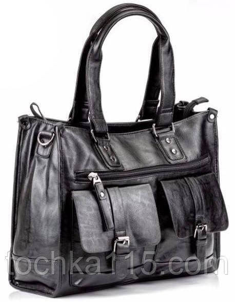 Мужская сумка, кожаная сумка, городская сумка для документов,