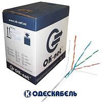 Lan-кабель экранированный OK-net FTP cat.5e КПВЭ-ВП (200) 4x2x0,51 (Одескабель)