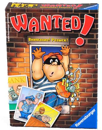 Настольная игра Ravensburger Wanted (Разыскиваются)