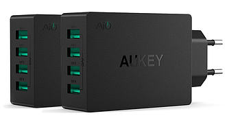 Aukey PA-U36 - умное 4-х портовое зарядое устройство