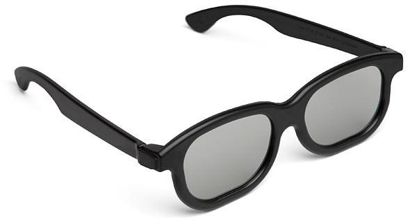 3Д очки для кинотеатров детские и взрослые, Поляризационные 3D очки Black Movie для ТВ 3d