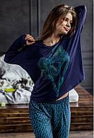 Жіноча піжама з довгим рукавом Key LHS 972