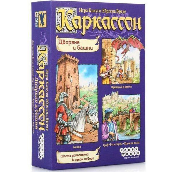 """Настольная игра """"Каркассон. Дворяне и башни"""" Hobby World"""