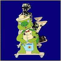 Вертикализатор Черепашка для активной реабилитации детей с ДЦП - Turtle Standing Frame Size 1
