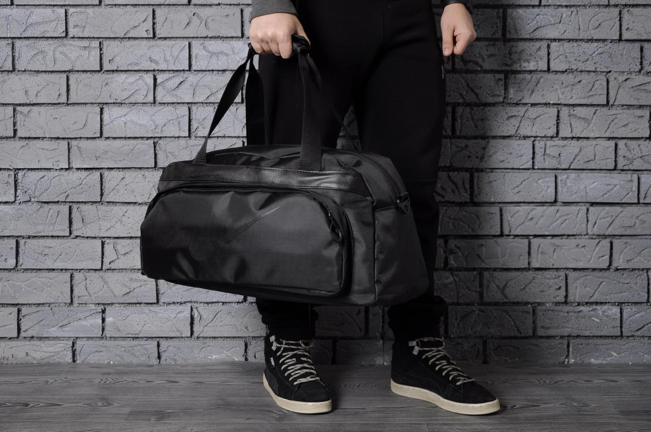 4d65cacfd8f3a Черная спортивная сумка Nike (Реплика): продажа, цена в Днепре ...