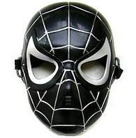 "Маска человека-паука, маска спайдермена черная ""Karnaval"" 1P/3RGI-200"